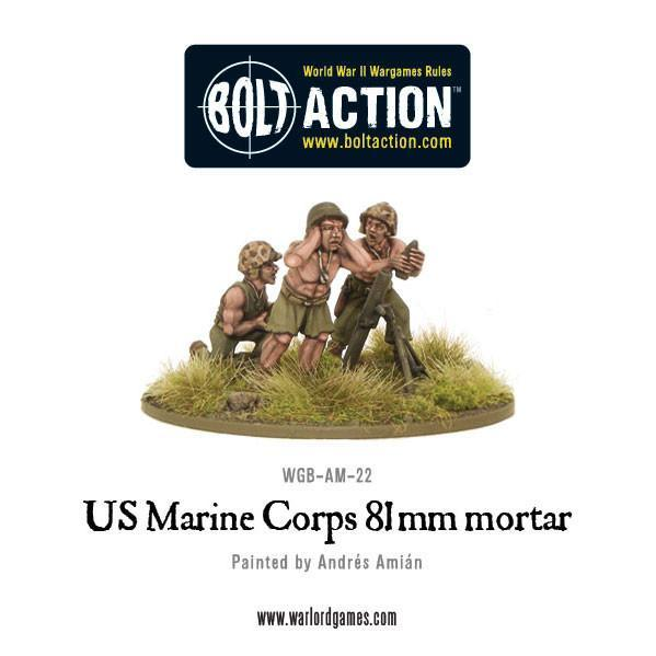 Bolt Action USMC 81mm mortar