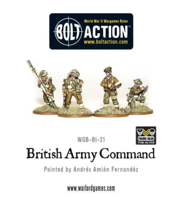 Bolt Action British Army Command