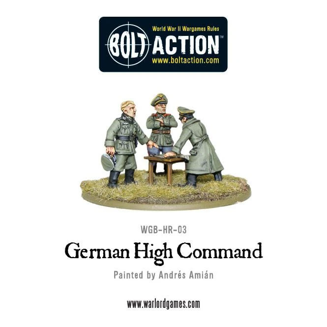 Bolt Action German High Command