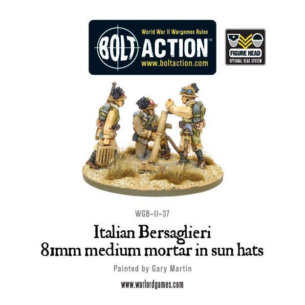 Bolt Action Italian Army 81mm mortar