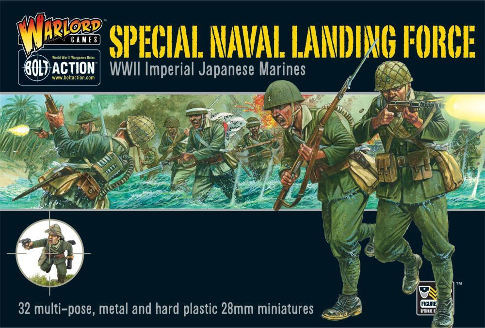 Bolt Action Special Naval Landing Force