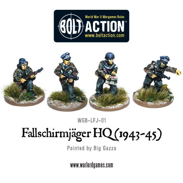 Bolt Action Fallschirmjager HQ (1943-45)(4)