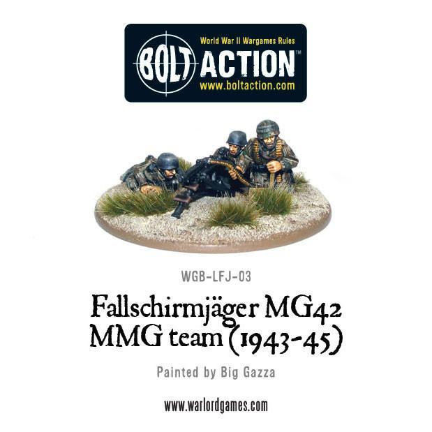 Bolt Action Fallschirmjager MG42 MMG team (1943-45)