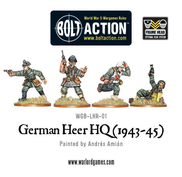 Bolt Action German Heer Command