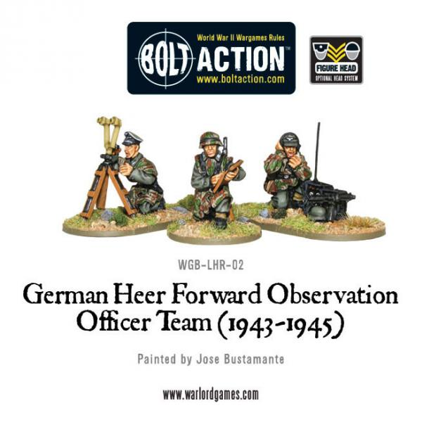 Bolt Action German Heer Forward Observation Team (FOO)
