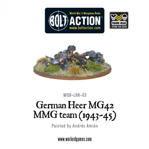 Bolt Action German Heer MG42 MMG Team