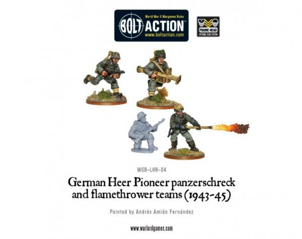Bolt Action German Heer Pioneer, Panzerschrek/Flame