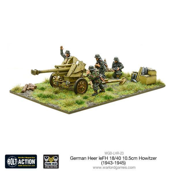 Bolt Action Heer LeFH 10.5 Howitzer