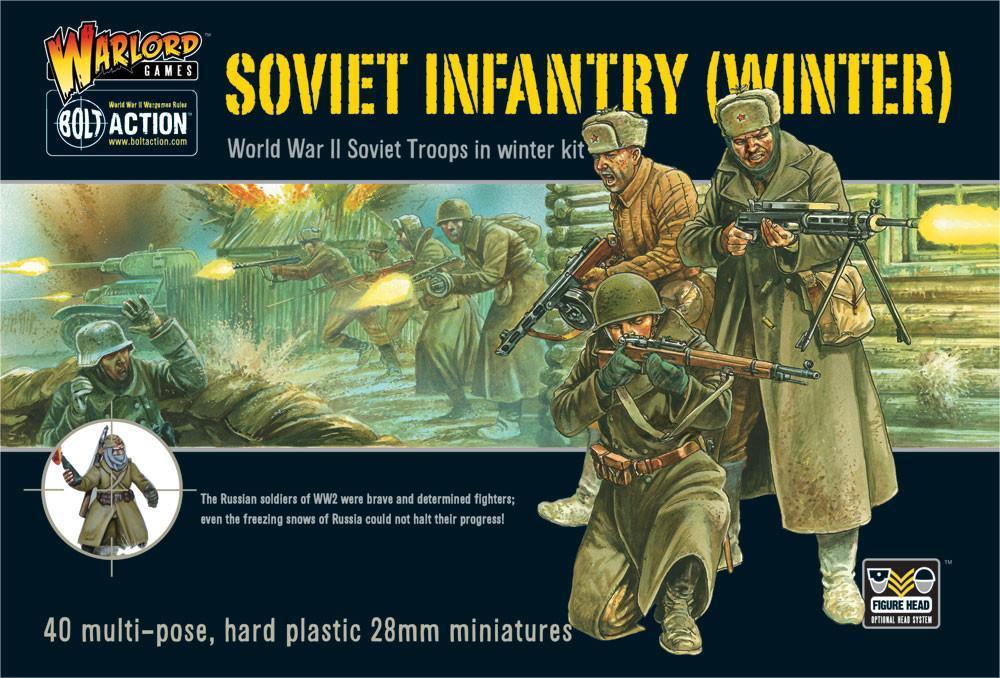 Bolt Action Soviet Winter Infantry
