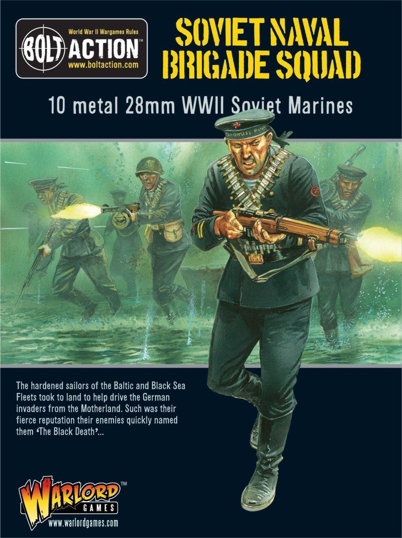 Bolt Action Soviet Naval Brigade Squad