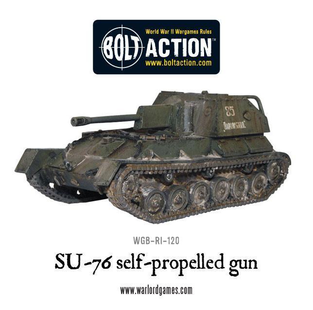 Bolt Action SU76