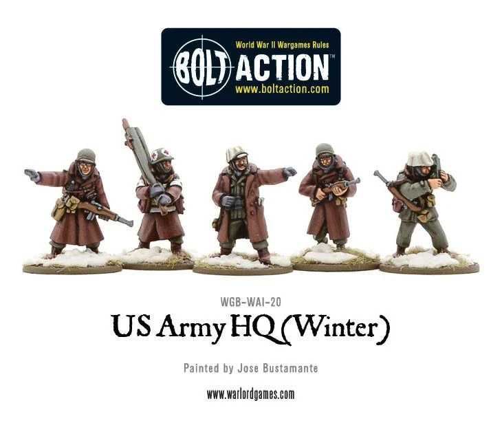Bolt Action US Army Command (Winter)