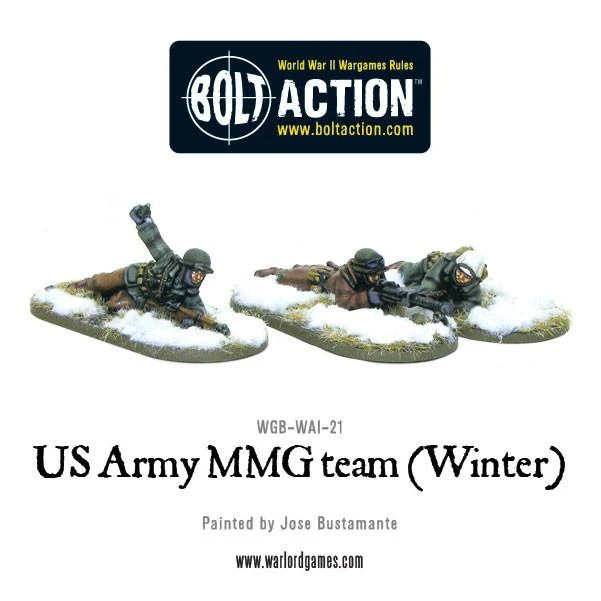 Bolt Action US Army MMG team (Winter)