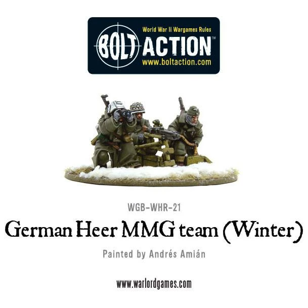 Bolt Action German Heer MMG team (Winter)