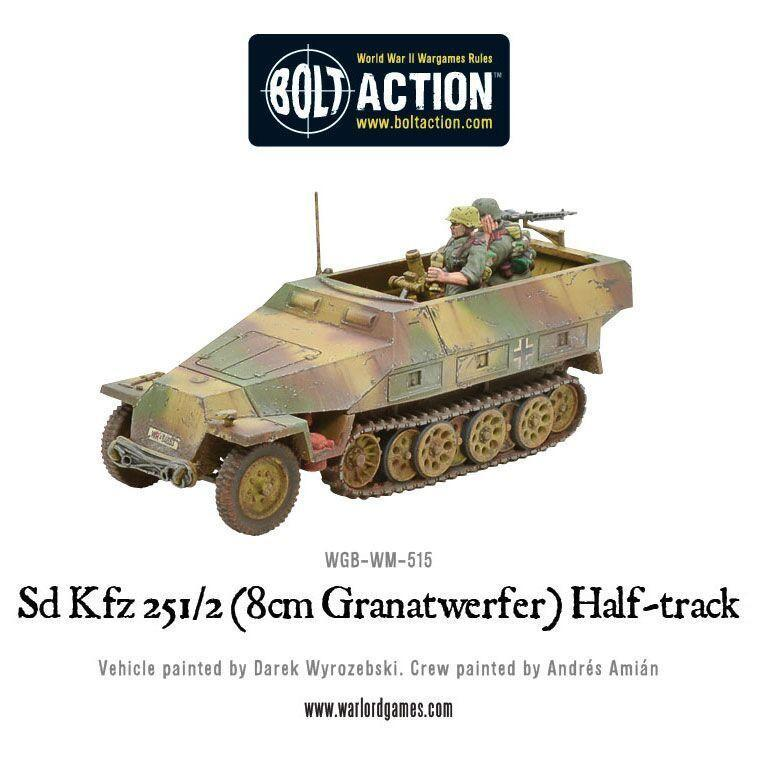 Bolt Action Sd.Kfz 251/2 Ausf D (8cm Granatwerfer) Half Track