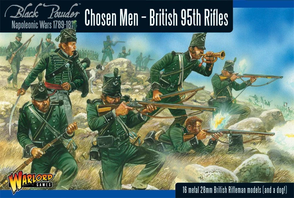 Black Powder British 95th Rifles (Chosen Men)