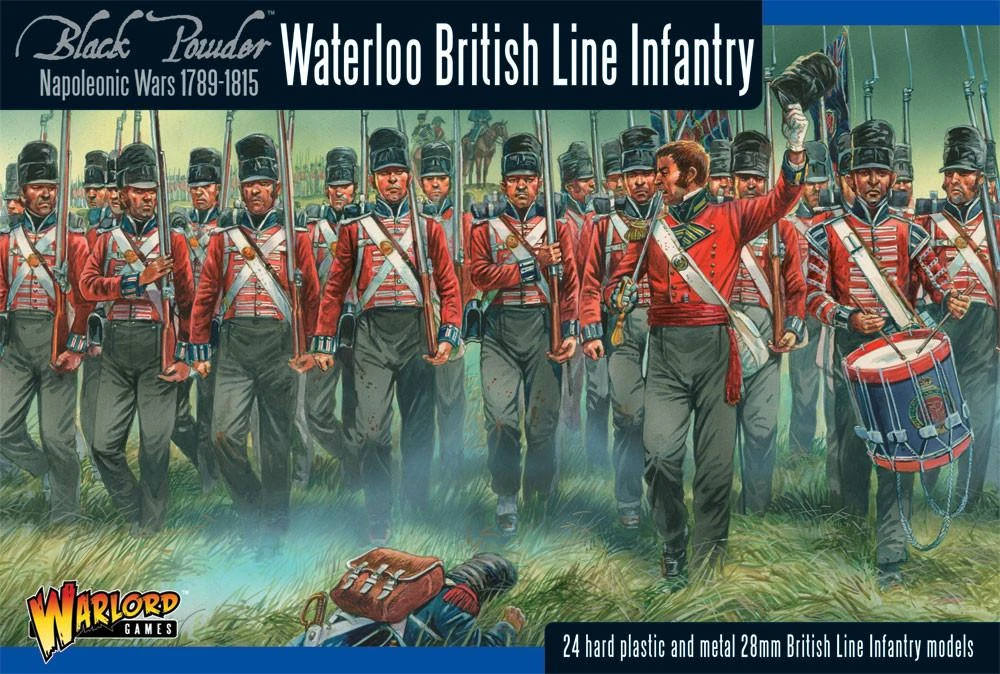 Black Powder British line Infantry (Waterloo) (24)