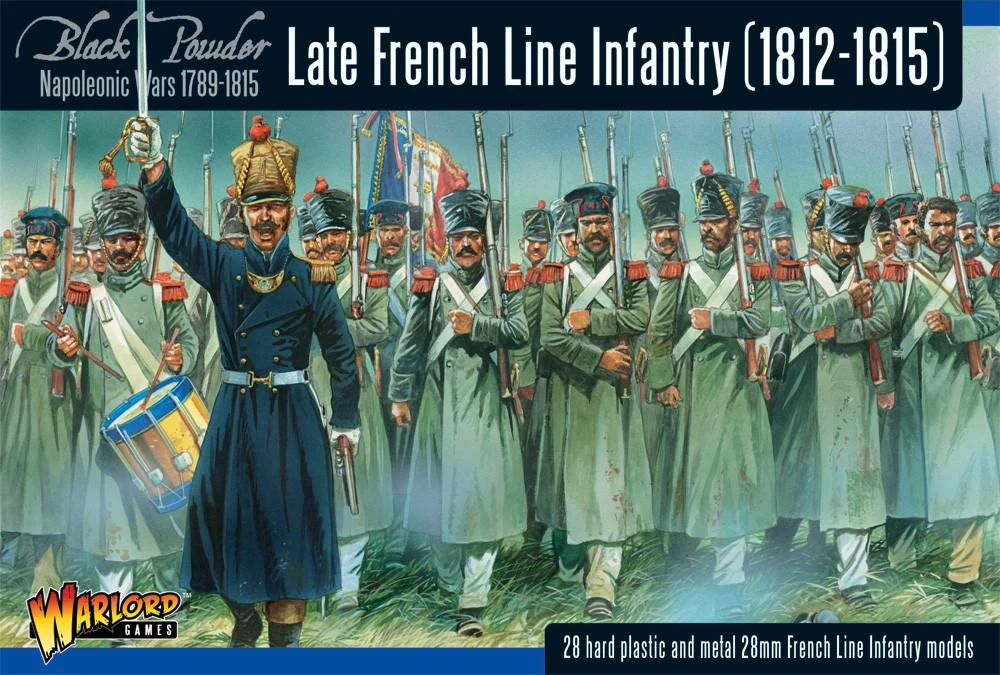 Black Powder Late French Line Infantry (1812-1815) Revised