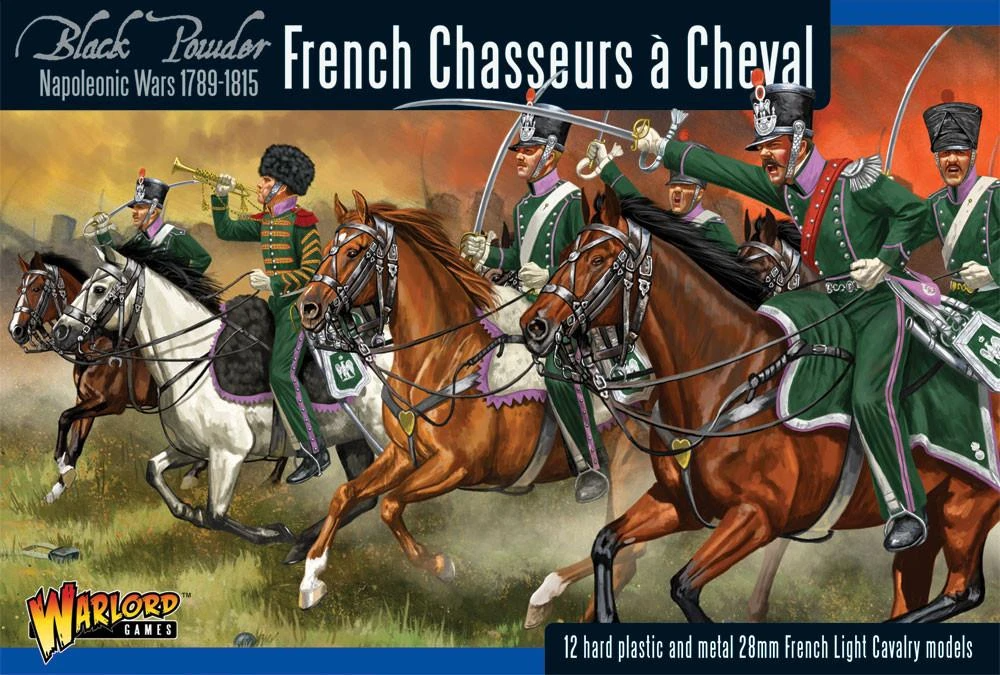 Black Powder French Chasseurs a Cheval Light Cavalry