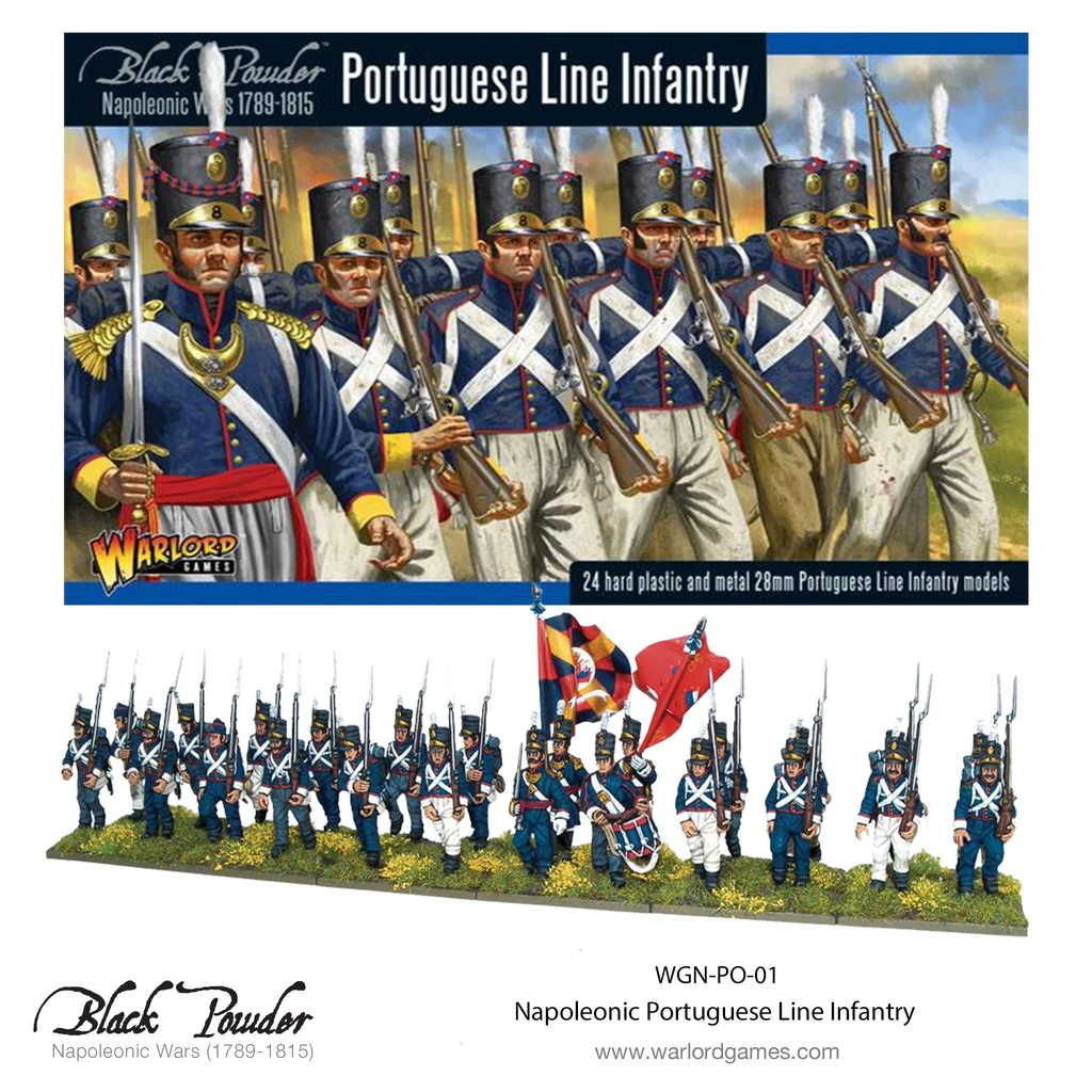 Black Powder Portugese Line Infantry
