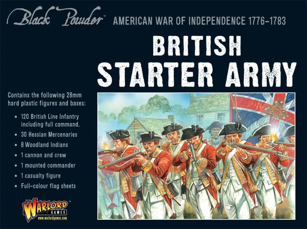 Black Powder British Army starter set