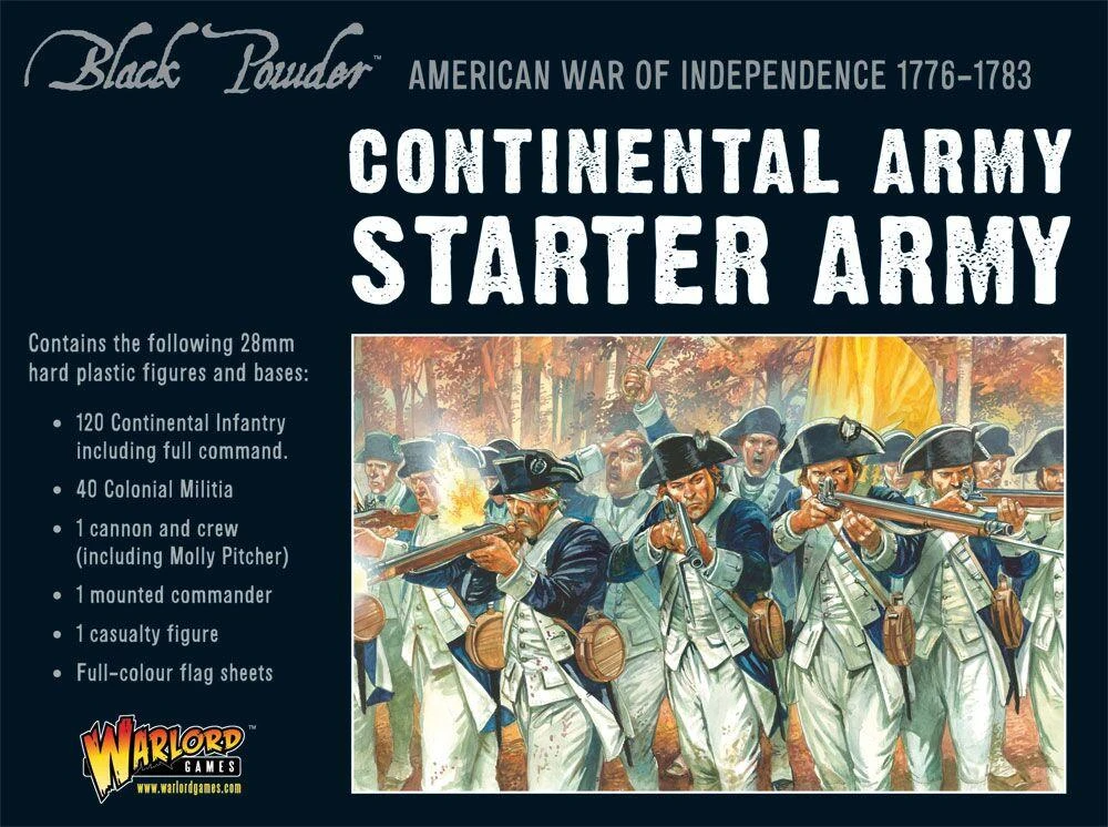 Black Powder Continental Army starter set