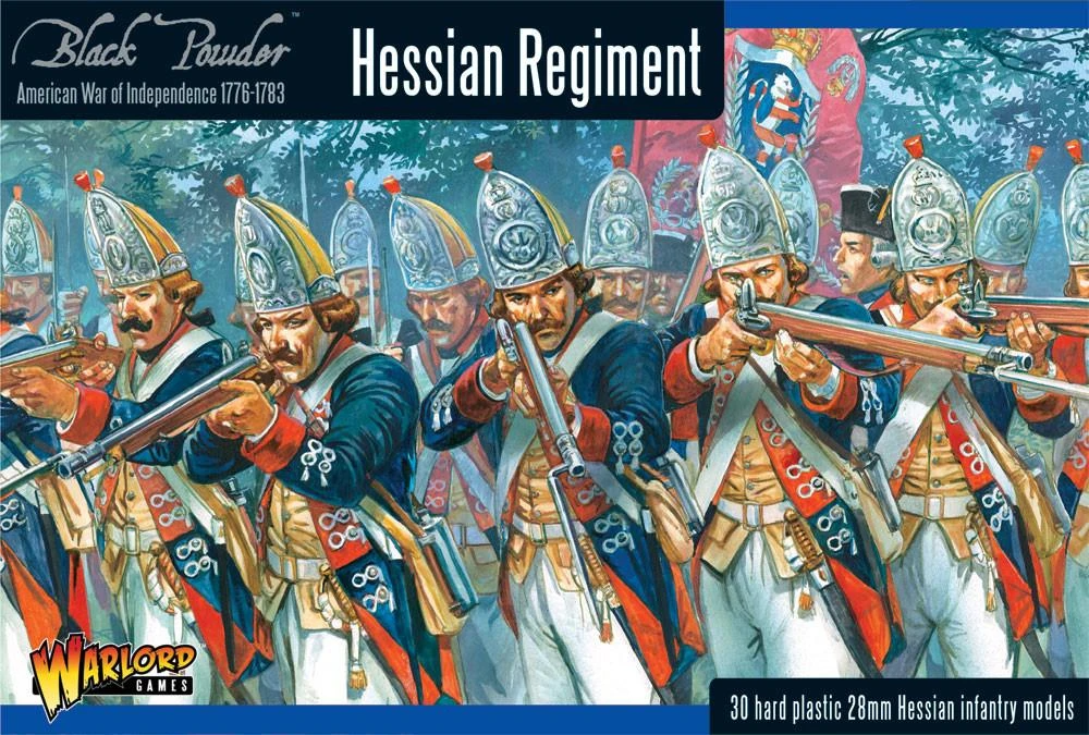 Black Powder Hessian regiment