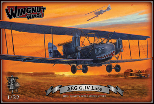 Wingnut Wings AEG G.IV Late