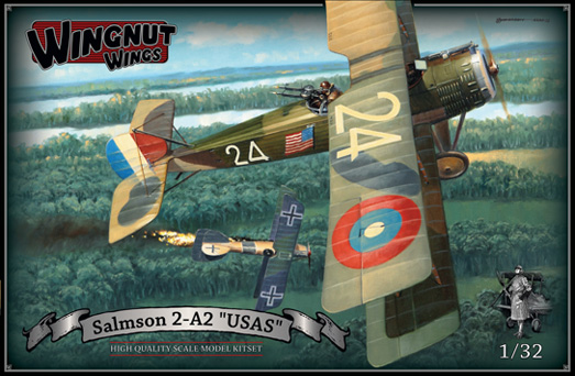 Wingnut Wings Salmson 2a2 USAS