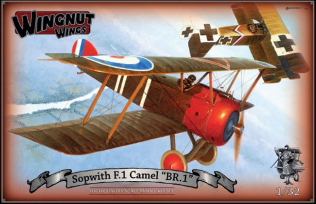 "Wingnut Wings Sopwith F.1 Camel ""BR.1"""