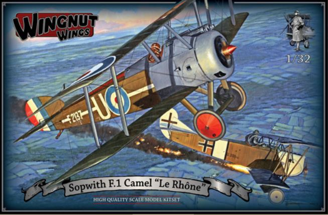 "Wingnut Wings Sopwith F.1 Camel ""Le Rhone"""
