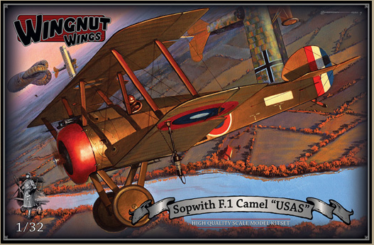 "Wingnut Wings Sopwith F.1 Camel ""USAS"""