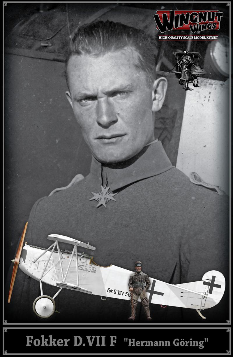 """Wingnut Wings Fokker D.VII F """"Hermann Goring"""""""