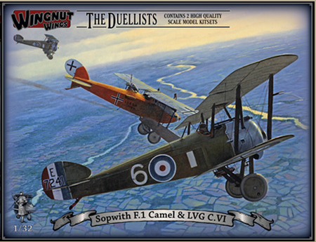 "Wingnut Wings Sopwith F.1 Camel & LVG C.VI ""The Duellists"""