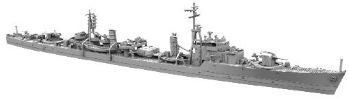 "Yamashita Hobby 1/700 Naval Ship Model Series Tachibana-Class Destroyer ""Tachibana"""