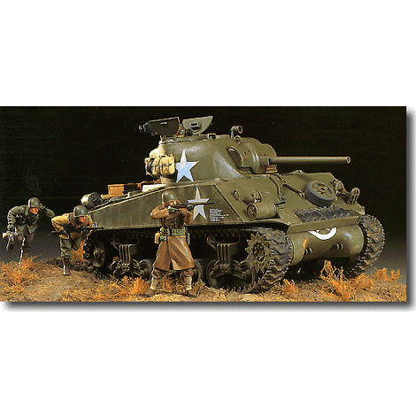 1/35 M4A3 Sherman 75mm