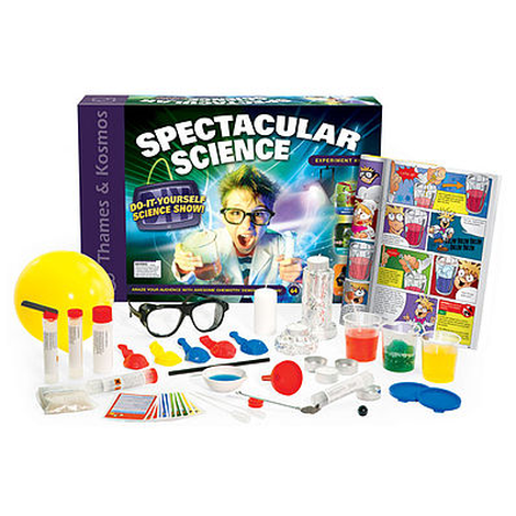 Hobby Works Spectacular Science Show Experiment Kit