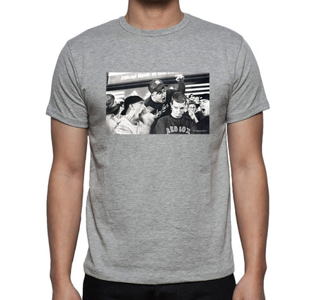 New York Welcome T-Shirt Gray