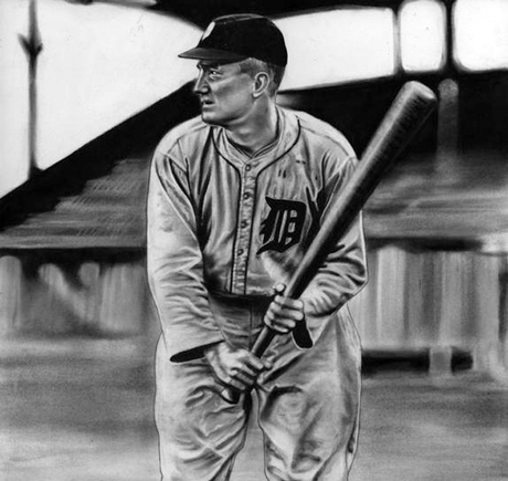 At the Plate featuring Ty Cobb