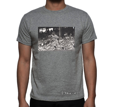 A'Mays'ing featuring Willie Mays T-Shirt Gray