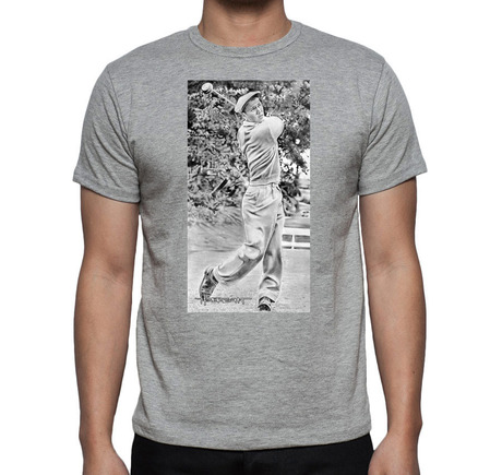 Young Arnold Palmer T-Shirt Gray