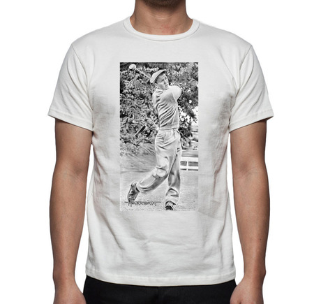 Young Arnold Palmer T-Shirt White