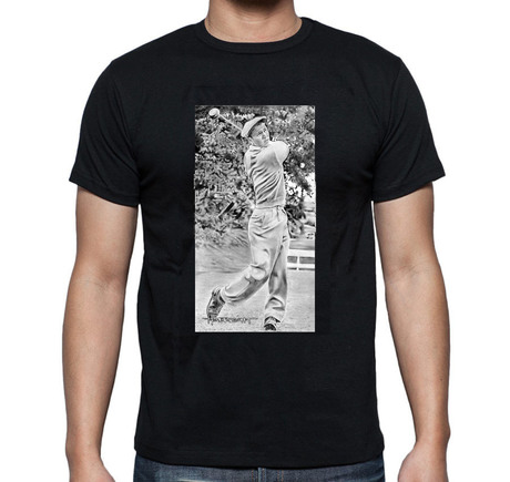 Young Arnold Palmer T-Shirt Black