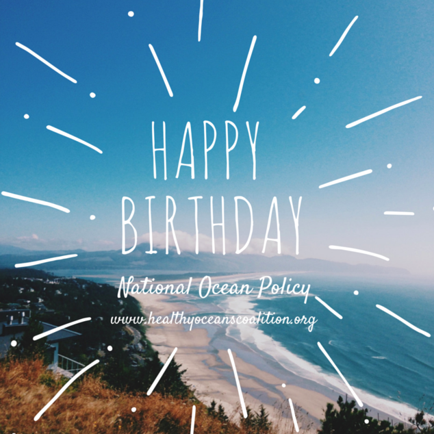 Happy Fifth Birthday National Ocean Policy