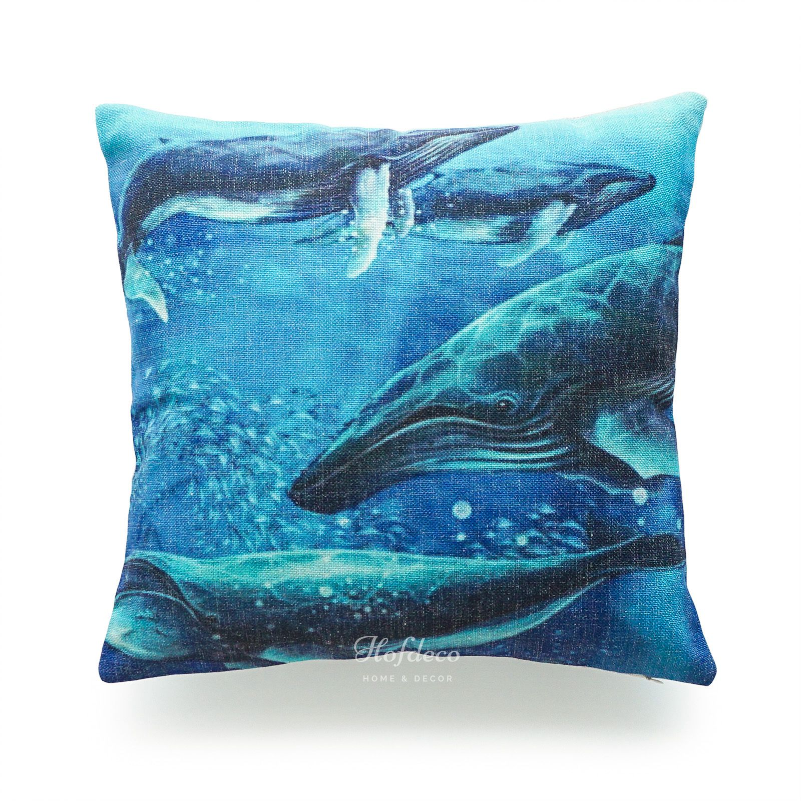 Nautical Throw Pillow Cases : Hofdeco Ocean Coastal Beach Nautical Watercolor Throw Pillow Case Cushion Cover eBay
