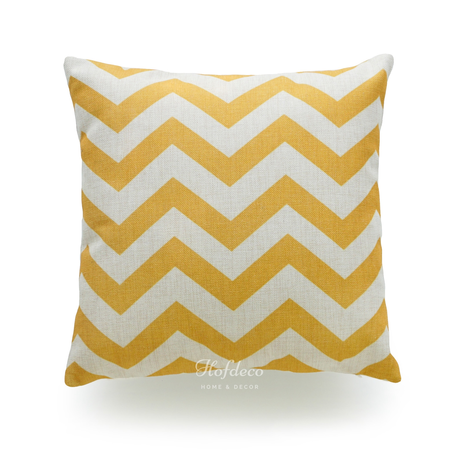 decorative throw pillow case mustard yellow heavy weight fabric cushion cover 18 ebay. Black Bedroom Furniture Sets. Home Design Ideas