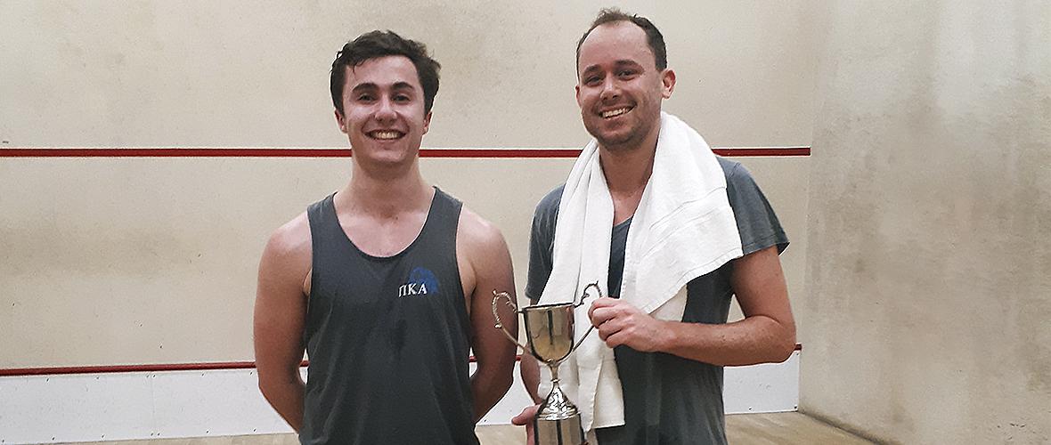 Squash tournament final