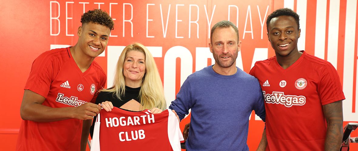 Brentford fc hogarth partnership