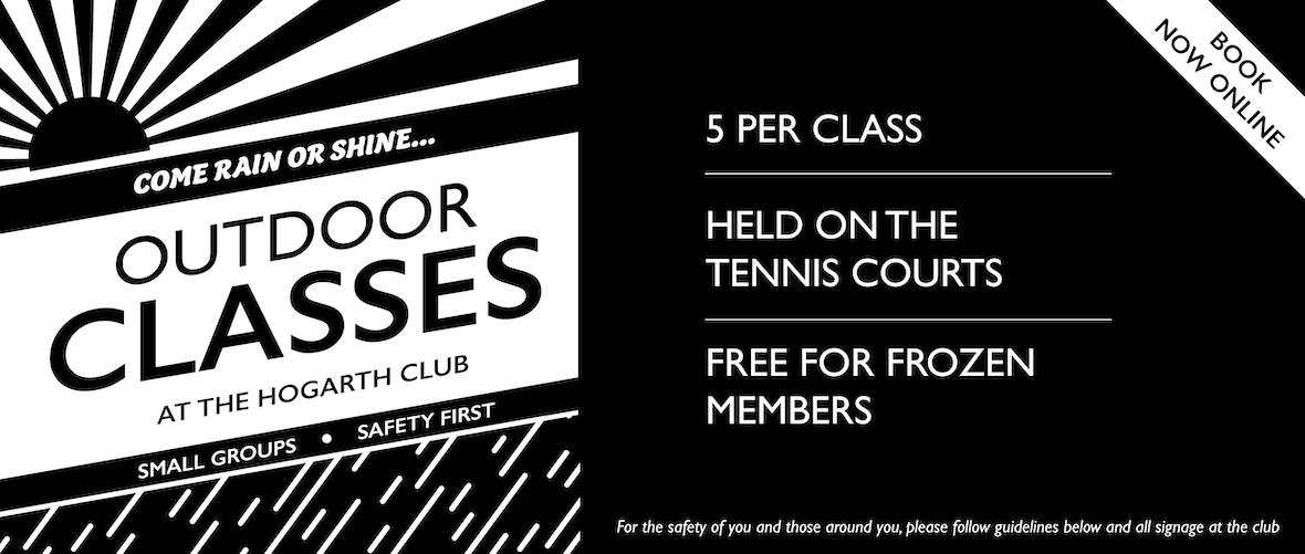 Outdoor classes banner blog
