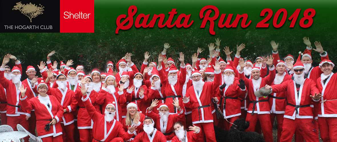 Hogarth santa run 2018